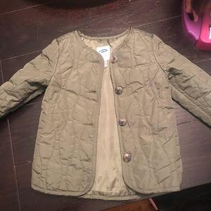Toddler olive green coat